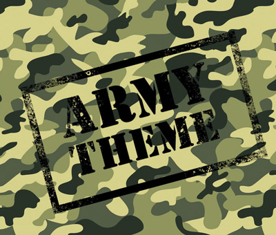 Army kids themed parties kids party themes kids for Army party decoration ideas